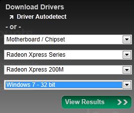 Radeon Xpress 200M и Vista/7 | ideafix name