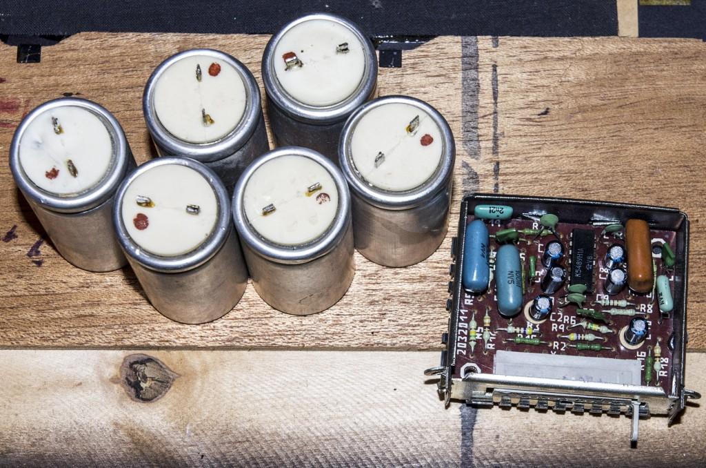 какие конденсаторы в колонке с 90 радиотехника